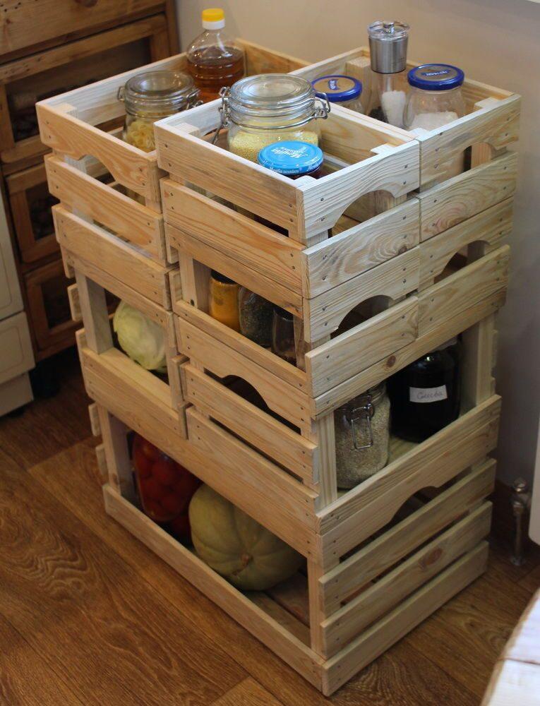 Ящики деревянные для хранения овощей своими руками 9